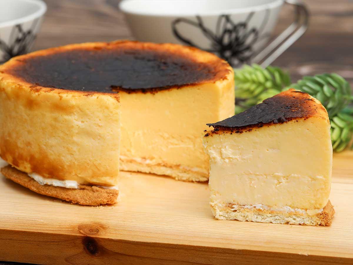 白雪姫の低糖質バスクチーズ